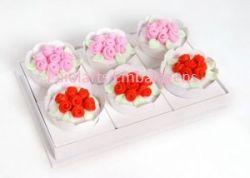 P/ 6 cupcakes - Cartonagem