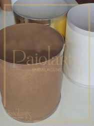 Diam. 17,0 x 20,0 Altura - P/ Panetone - Kraft, Ouro ou Branca