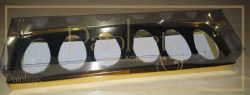 Cx. p/ 6 ovos de 50 grs - ouro SIMPLES