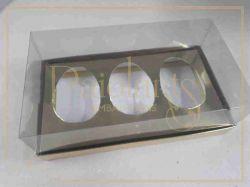 Cx. P/ 3 ovos de Colher 100g a 150g - Simples OURO