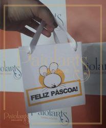 Sacola (Pequena) - Páscoa (Pacote c/ 25 unidades)