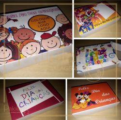 Cx. Gaveta Dobradura 6 bombons - Dia das Crianças