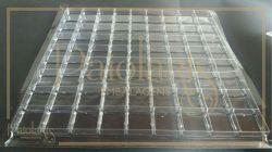 Berço Quadrado Transparente - 81 cavidades (9 X 9)