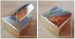 Cx. 4,8 x 4,8 x 3,0 -  Montar - Ouro