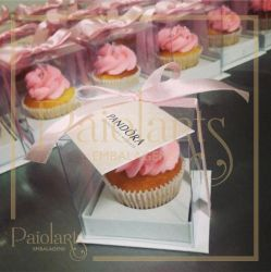 Mini Cupcake - 5,5 x 5,5 x 6,0 - Cartonagem
