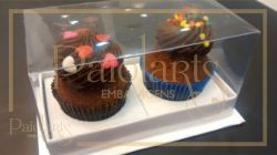 2 Mini Cupcakes - Cartonagem