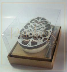 Cx. P/ 1 ovo de colher de 100 a 150 grs - Simples KRAFT