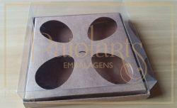 Cx. p/ 4 ovos de colher de 100 a 150 grs - Simples KRAFT -